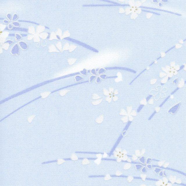 Сакура голубой 5102